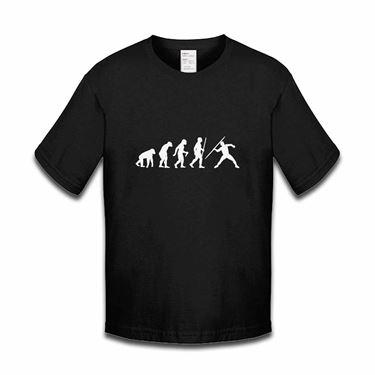 Picture of Evolution Of Man Athletics Javelin Boys Tshirt