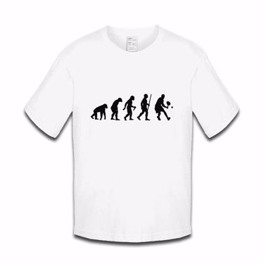 Picture of Evolution Of Man Tennis Boys Tshirt