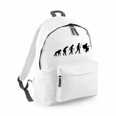 Picture of Evolution Of Man Acoustic Guitar Musician Fashion Backpack