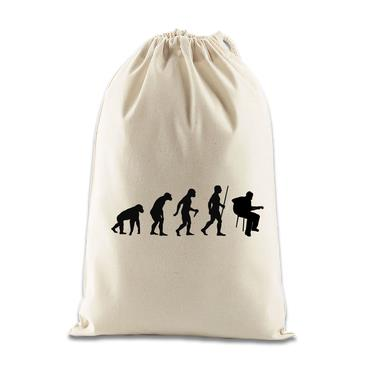 Picture of Evolution Of Man Acoustic Guitar Musician Gift Bag