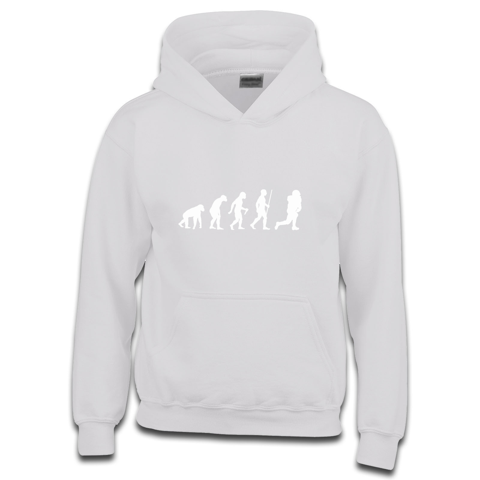 c5571b0867 Picture of Evolution Of Man American Football Foot Ball Usa Nfl Girls Hoodie