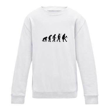 Picture of Evolution Of Man Tennis Girls Sweatshirt