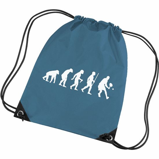 Picture of Evolution Of Man Tennis Gym Bag