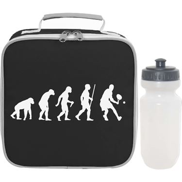 Picture of Evolution Of Man Tennis Lunch Bag And Bottle