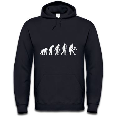 Picture of Evolution Of Man Tennis Mens Hoodie