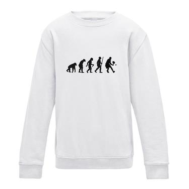 Picture of Evolution Of Man Tennis Mens Sweatshirt