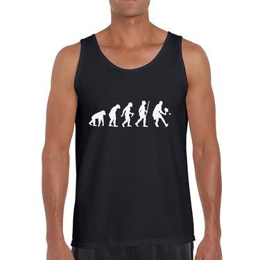 Picture of Evolution Of Man Tennis Mens Vest