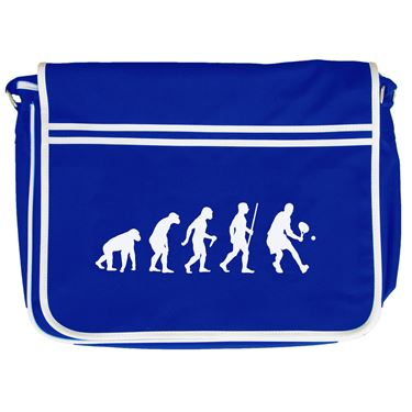 Picture of Evolution Of Man Tennis Retro Messenger Bag