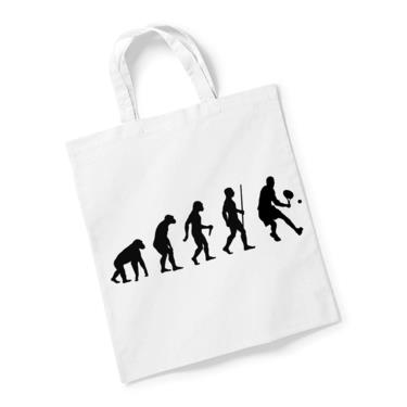 Picture of Evolution Of Man Tennis Reusable Bag For Life