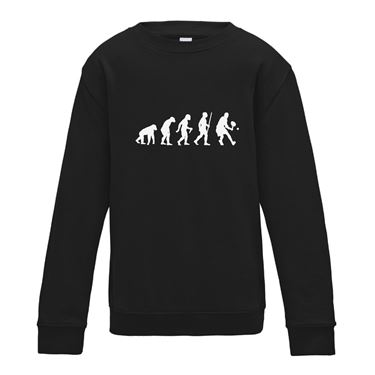 Picture of Evolution Of Man Tennis Womens Sweatshirt