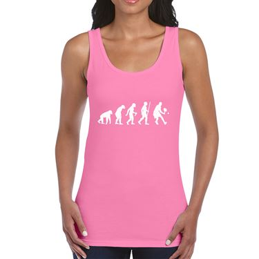 Picture of Evolution Of Man Tennis Womens Vest