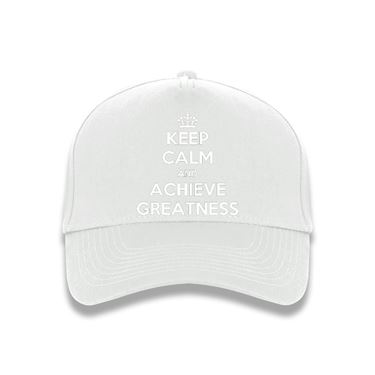 Picture of Keep Calm And Achieve Greatness Baseball Cap