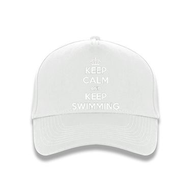 Picture of Keep Calm And Keep Swimming Baseball Cap