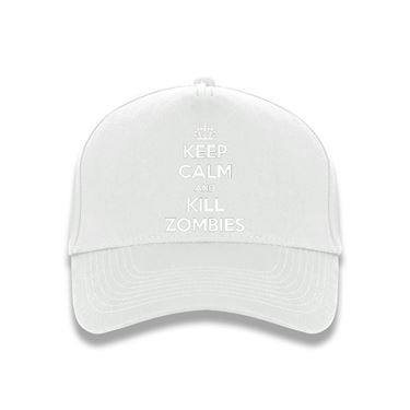 Picture of Keep Calm And Kill Zombies Baseball Cap