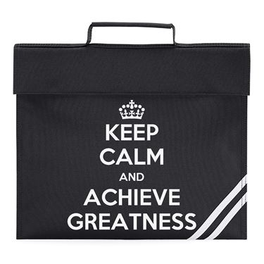 Picture of Keep Calm And Achieve Greatness Book Bag