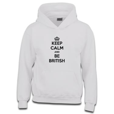 Picture of Keep Calm And Be British Boys Hoodie