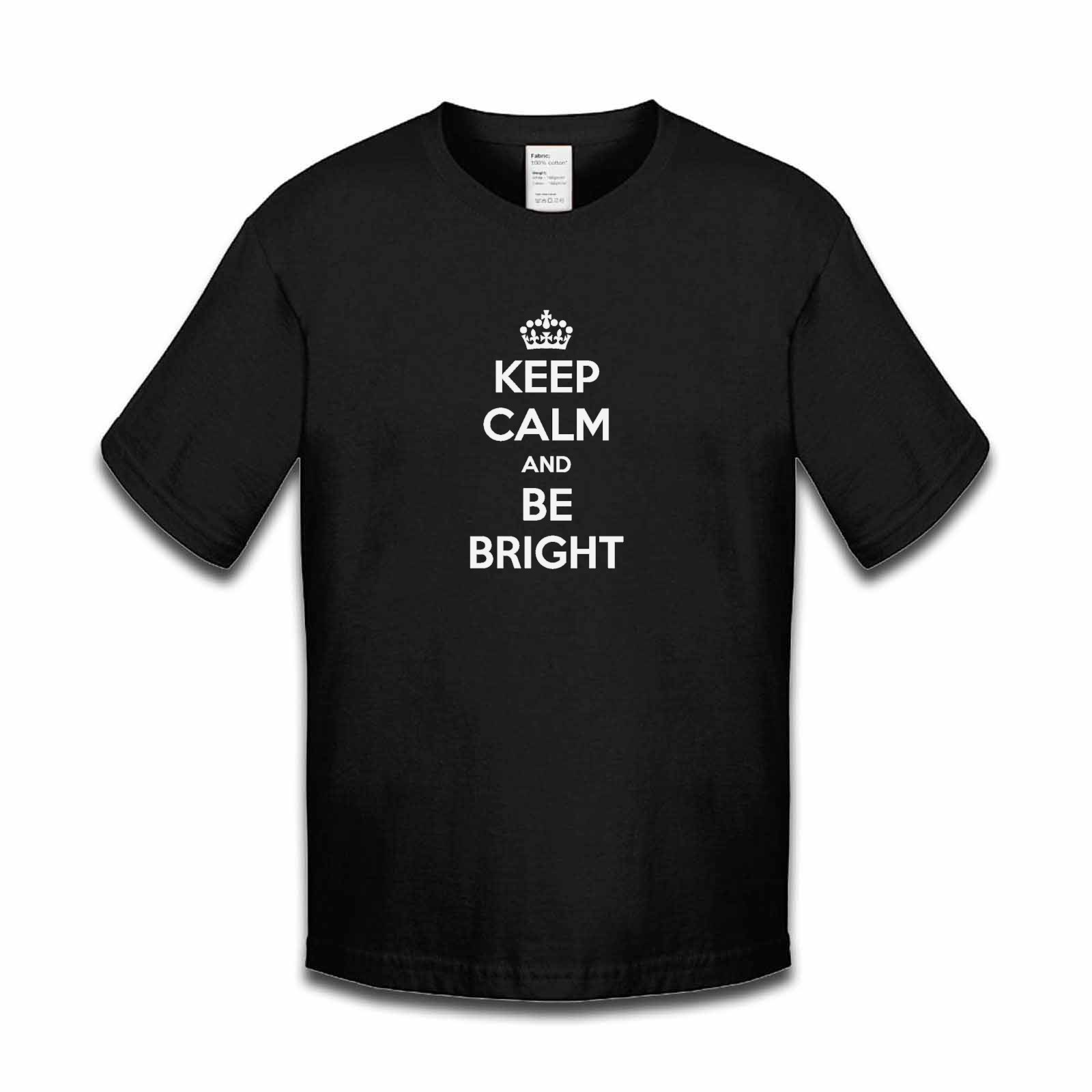 Picture of Keep Calm And Be Bright Boys Tshirt