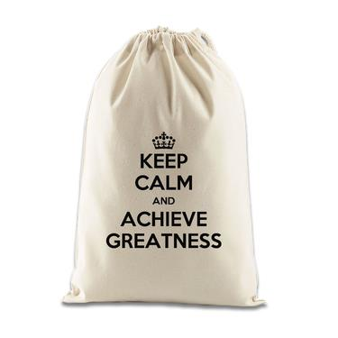 Picture of Keep Calm And Achieve Greatness Gift Bag