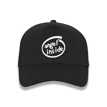 Picture of Angel Inside Parody Logo Baseball Cap