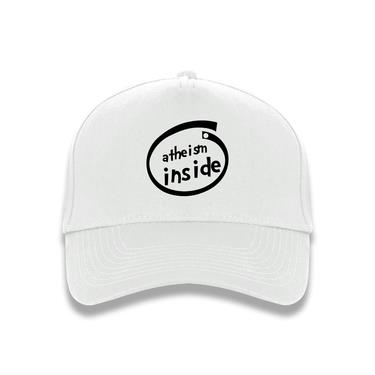 Picture of Atheism Inside Parody Logo Baseball Cap