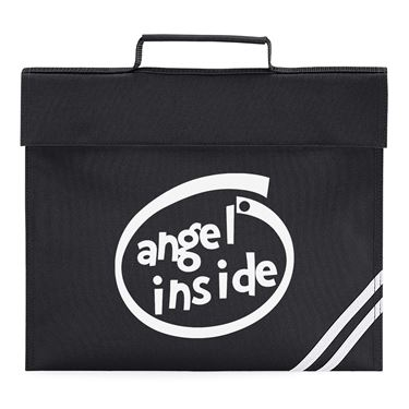Picture of Angel Inside Parody Logo Book Bag
