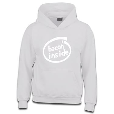 Picture of Bacon Inside Parody Logo Boys Hoodie