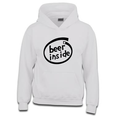 Picture of Beer Inside Parody Logo Boys Hoodie