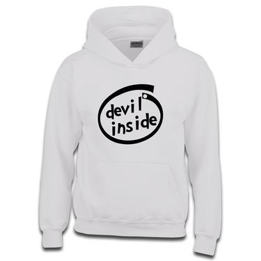 Picture of Devil Inside Parody Logo Boys Hoodie