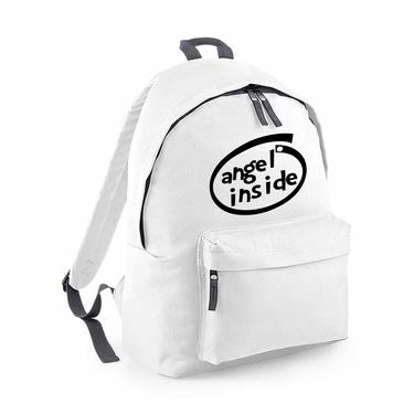 Picture of Angel Inside Parody Logo Fashion Backpack