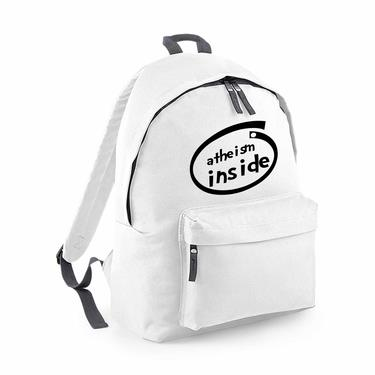 Picture of Atheism Inside Parody Logo Fashion Backpack