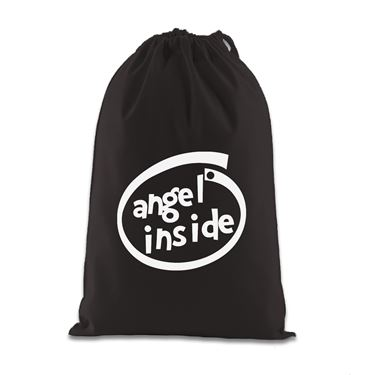 Picture of Angel Inside Parody Logo Gift Bag