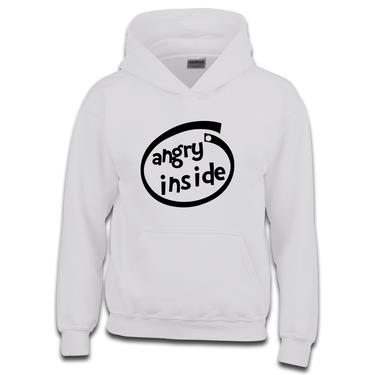 Picture of Angry Inside Parody Logo Girls Hoodie
