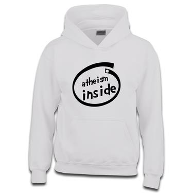 Picture of Atheism Inside Parody Logo Girls Hoodie