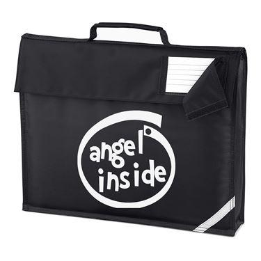 Picture of Angel Inside Parody Logo Homework Bag
