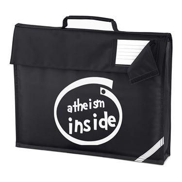 Picture of Atheism Inside Parody Logo Homework Bag