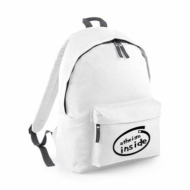 Picture of Atheism Inside Parody Logo Junior Backpack