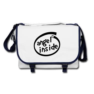 Picture of Angel Inside Parody Logo Messenger Bag