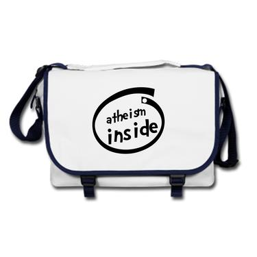 Picture of Atheism Inside Parody Logo Messenger Bag