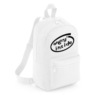 Picture of Angry Inside Parody Logo Mini Backpack