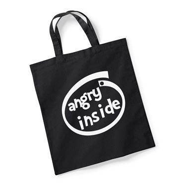 Picture of Angry Inside Parody Logo Reusable Bag For Life