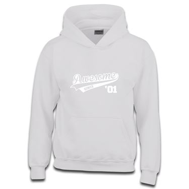 Picture of Awesome Since Year 01 2001 Birthday Anniversary Boys Hoodie