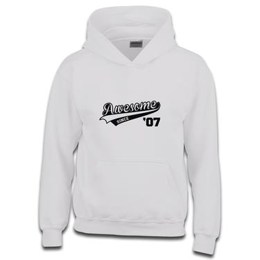 Picture of Awesome Since Year 07 2007 Birthday Anniversary Boys Hoodie