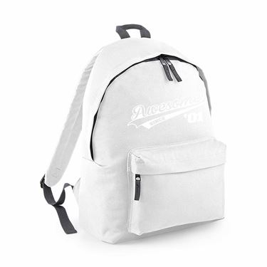Picture of Awesome Since Year 01 2001 Birthday Anniversary Fashion Backpack
