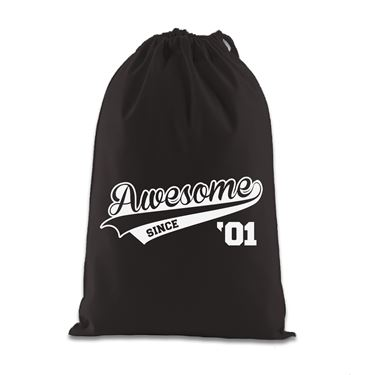 Picture of Awesome Since Year 01 2001 Birthday Anniversary Gift Bag