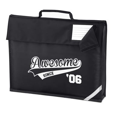 Picture of Awesome Since Year 06 2006 Birthday Anniversary Homework Bag