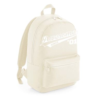 Picture of Awesome Since Year 01 2001 Birthday Anniversary Kids Backpack