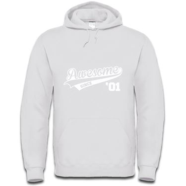 Picture of Awesome Since Year 01 2001 Birthday Anniversary Mens Hoodie