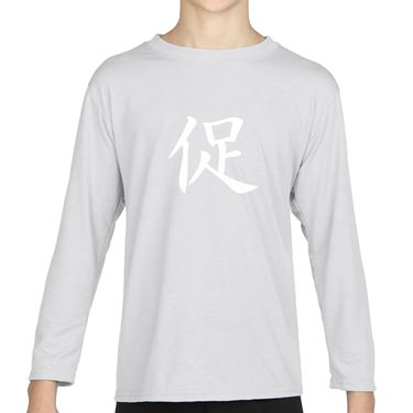 Picture of Accelerate Kanji Logo Anime Manga Girls Long Sleeve Tshirt