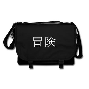 Picture of Adventure Kanji Logo Anime Manga Messenger Bag