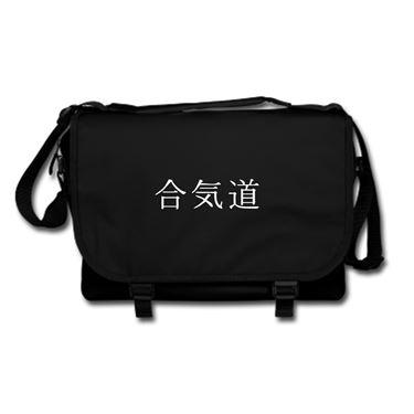 Picture of Aikido Kanji Logo Anime Manga Messenger Bag